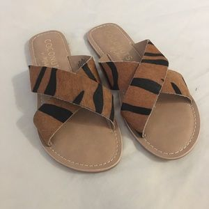 NWOT Matisse 7 Sandals